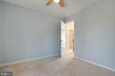 Light and bright- a wonderful bedroom space - 549 DRUID HILL RD NE, VIENNA