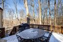 Serenity is just a step out the backdoor to deck - 549 DRUID HILL RD NE, VIENNA