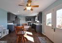 Kitchen opens up to Breakfast Area! - 6 GRANITE CT, FREDERICKSBURG