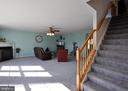 NEW carpeting in Family Room and on Stairway! - 6 GRANITE CT, FREDERICKSBURG