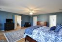Master Bedroom has 13' x 9' Walk In Closet! - 6 GRANITE CT, FREDERICKSBURG