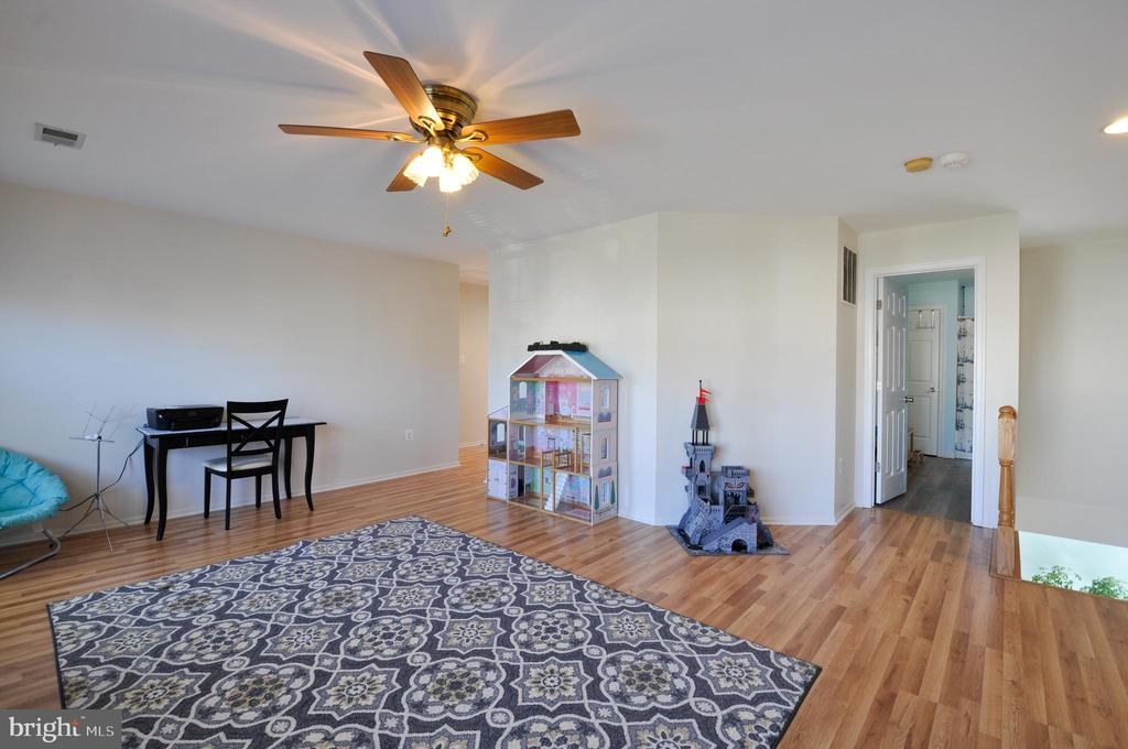 Upper level Flex Space - great as a playroom! - 6 GRANITE CT, FREDERICKSBURG