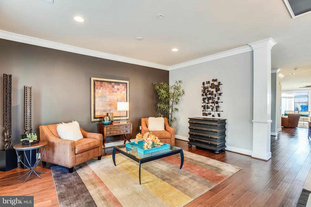 Formal Living Room - 43535 MICHIGAN SQ #RS1, LEESBURG