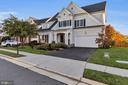 View from the street - 42445 MEADOW SAGE DR, BRAMBLETON