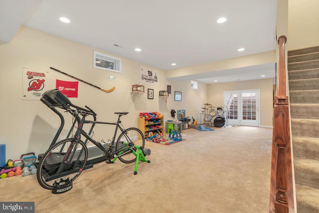 Walkup basement - 42445 MEADOW SAGE DR, BRAMBLETON