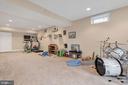 Plenty of recreation room - 42445 MEADOW SAGE DR, BRAMBLETON