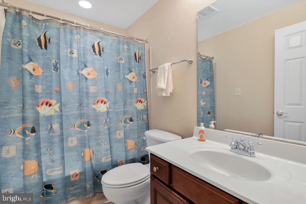 Lower level bathroom - 42445 MEADOW SAGE DR, BRAMBLETON
