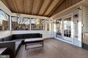 Trex flooring on porch & deck - 42445 MEADOW SAGE DR, BRAMBLETON