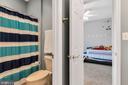 Separate shower area - 42445 MEADOW SAGE DR, BRAMBLETON