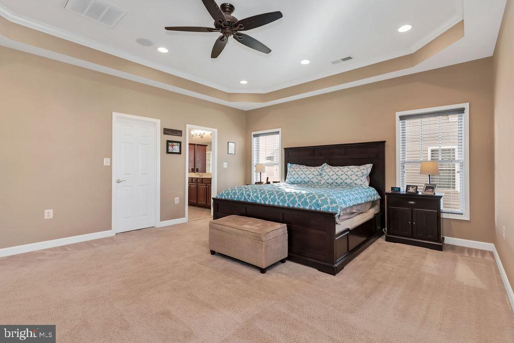 Beautiful master suite - 42445 MEADOW SAGE DR, BRAMBLETON