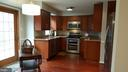 Remodeled Kitchen with Custom Pantry - 7126 BRIDGEPORT CT, SPRINGFIELD