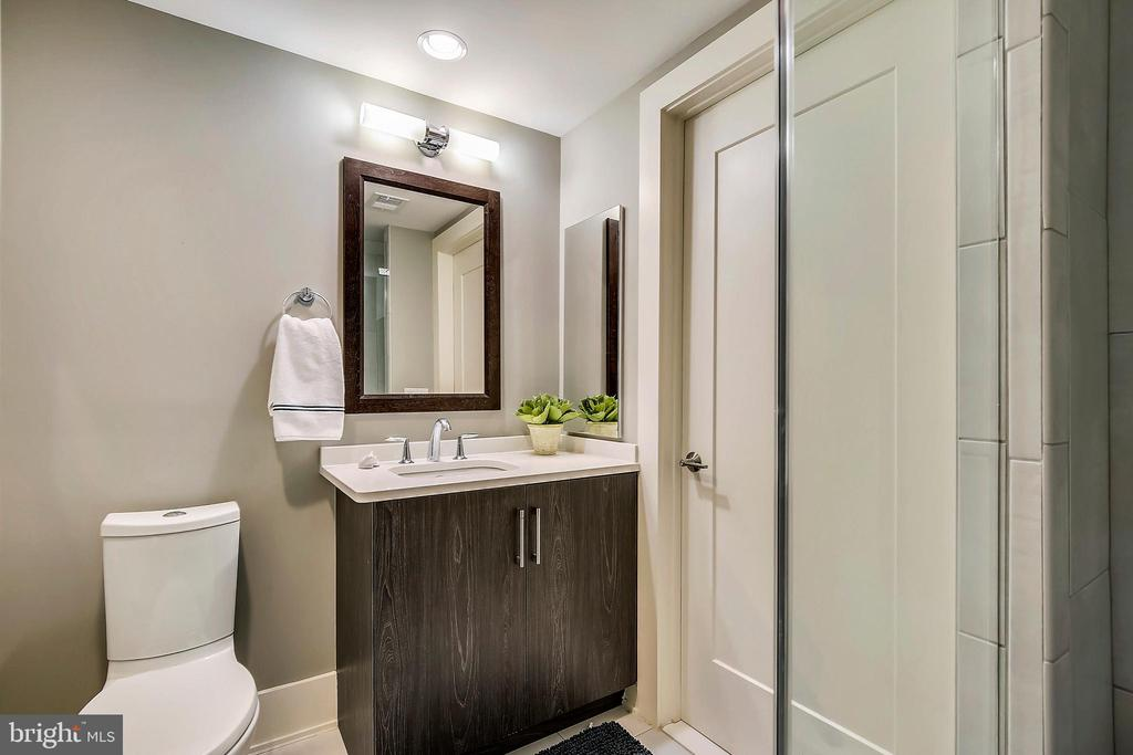 1st Floor Full Bathroom - 5402 MERRIAM ST, BETHESDA