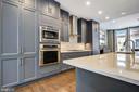 Modern Gourmet Kitchen - 5402 MERRIAM ST, BETHESDA