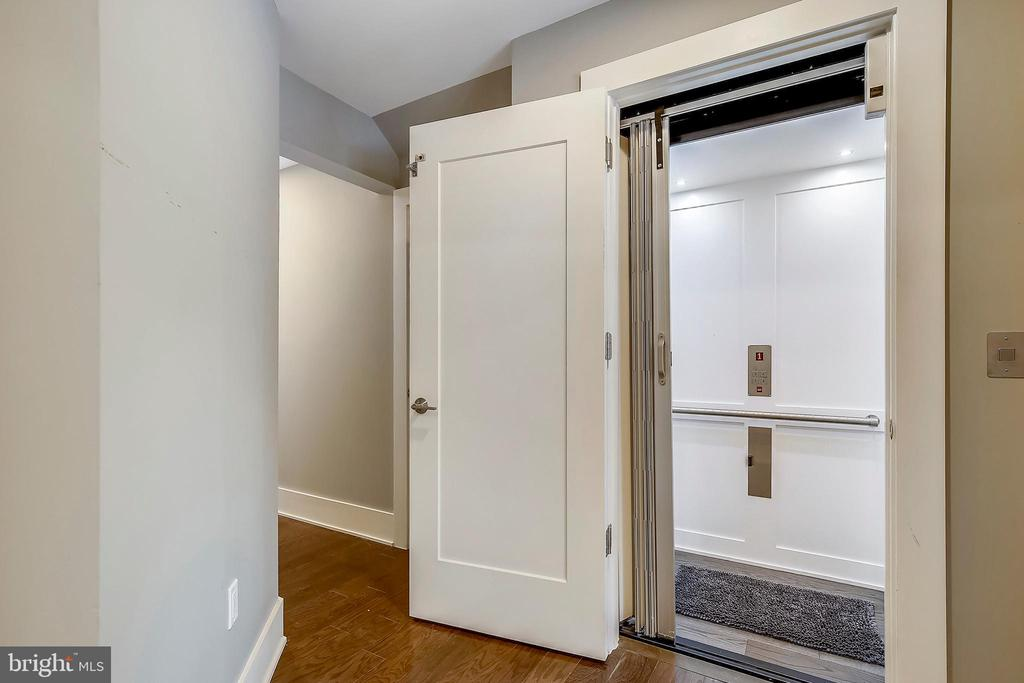 Private Elevator to all 4 levels - 5402 MERRIAM ST, BETHESDA
