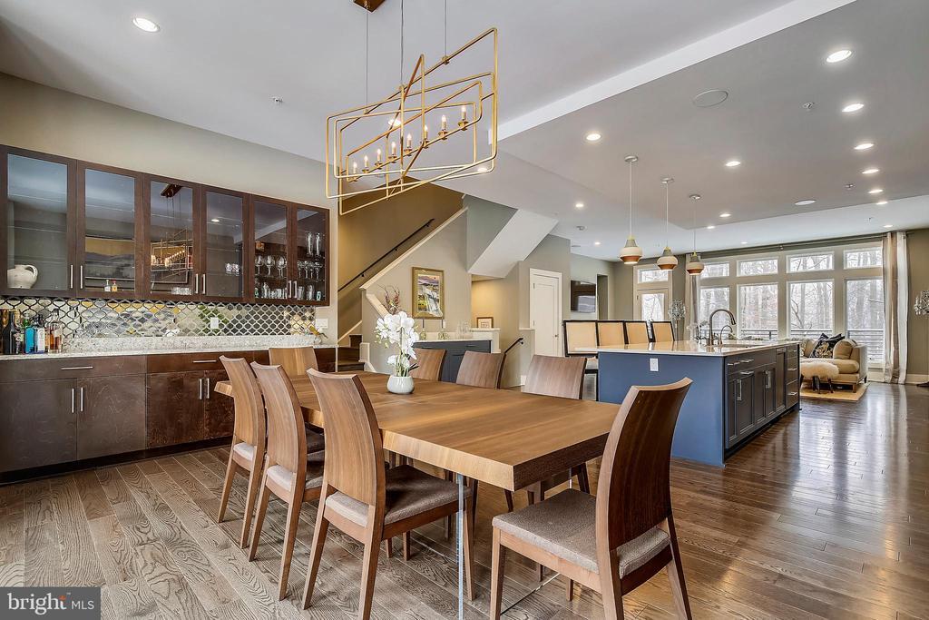 Stylish Dining Room - 5402 MERRIAM ST, BETHESDA