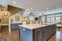 Kitchen Island - 5402 MERRIAM ST, BETHESDA