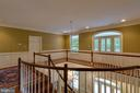 Classic Open Hallway w/ access to the Upper Porch - 12970 WYCKLAND DR, CLIFTON