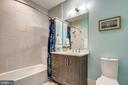 Bathroom - 5402 MERRIAM ST, BETHESDA