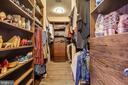 Owners' Suite Walk In Closet - 5402 MERRIAM ST, BETHESDA