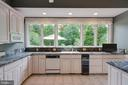 Open Gourmet Kitchen w/ lots of natural light - 12970 WYCKLAND DR, CLIFTON