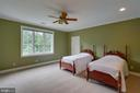 Large Bedrooms with plenty of closet space - 12970 WYCKLAND DR, CLIFTON