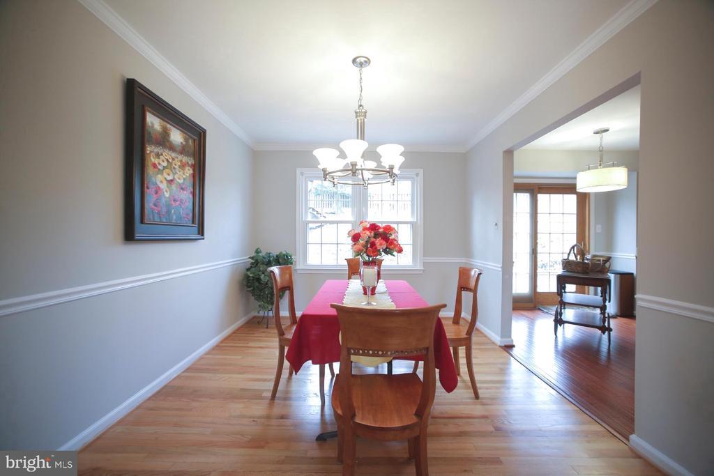Dining Room - 7126 BRIDGEPORT CT, SPRINGFIELD