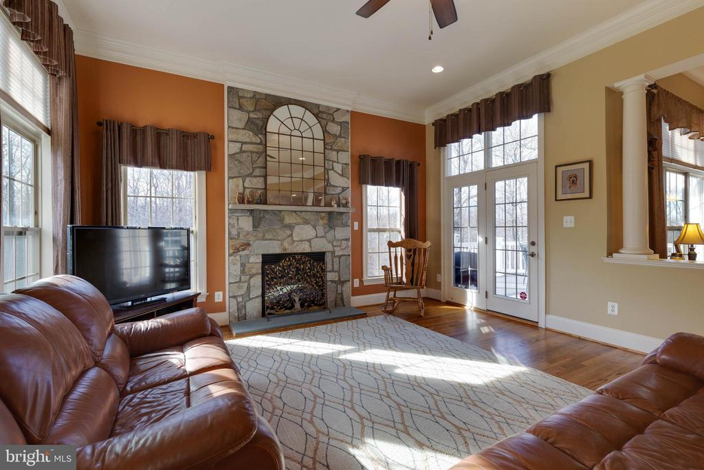 Family Room - 3341 DONDIS CREEK DR, TRIANGLE