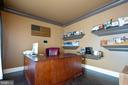 Comfortable office on main level of home - 3713 STONEWALL MANOR DR, TRIANGLE