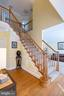 Gorgeous two story entry - 3713 STONEWALL MANOR DR, TRIANGLE