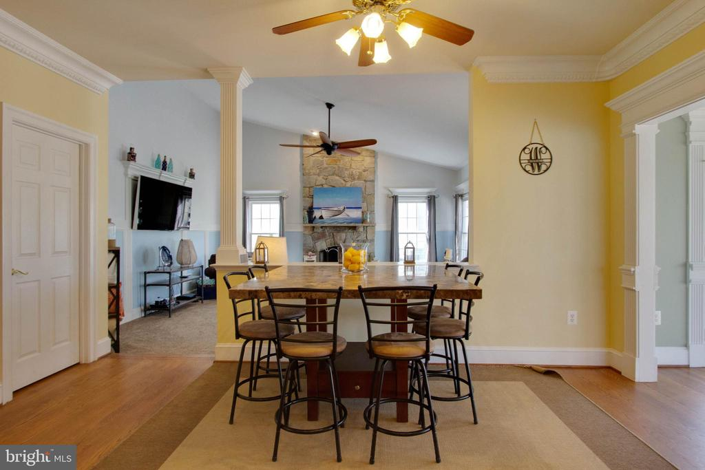 Good size eat-in area of kitchen - 3713 STONEWALL MANOR DR, TRIANGLE