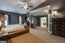 Huge master suite - 3713 STONEWALL MANOR DR, TRIANGLE
