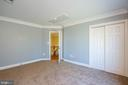 Large wall closet - 3713 STONEWALL MANOR DR, TRIANGLE