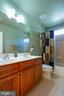 Dual vanity in guest bath - 3713 STONEWALL MANOR DR, TRIANGLE