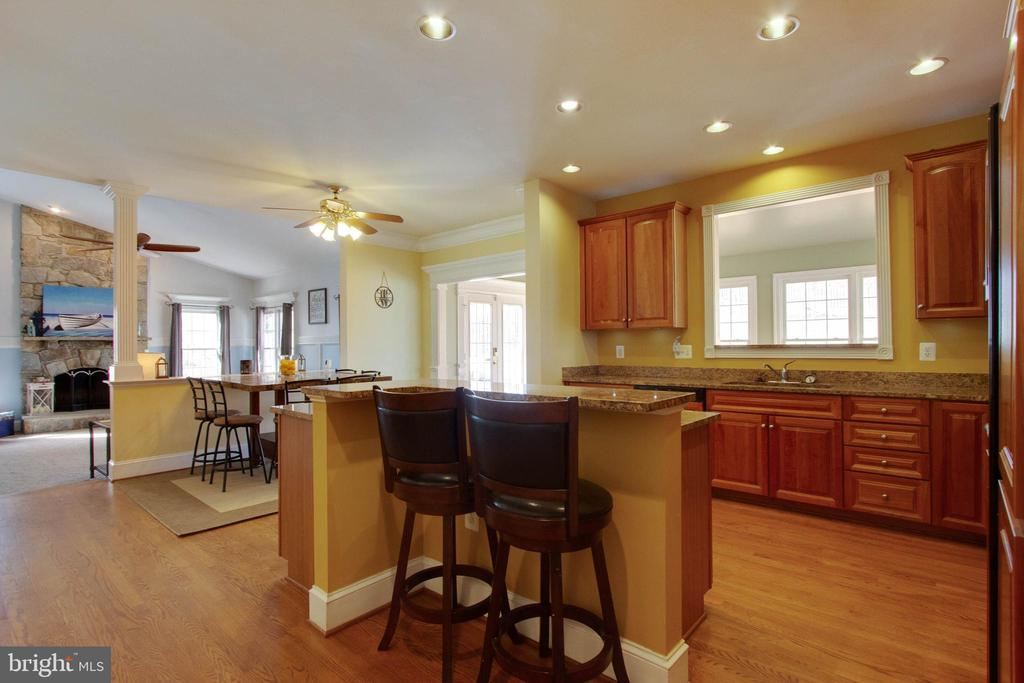 Bright open kitchen - 3713 STONEWALL MANOR DR, TRIANGLE