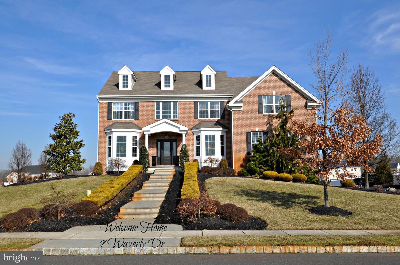 Maison unifamiliale pour l Vente à 9 WAVERLY Drive Columbus, New Jersey 08022 États-Unis