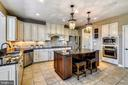 Beautiful Chef's Kitchen w/ SS Appliances - 40621 BANSHEE DR, LEESBURG