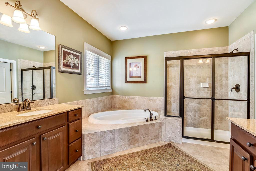 Master Bathroom with Shower and Separate Tub - 40621 BANSHEE DR, LEESBURG