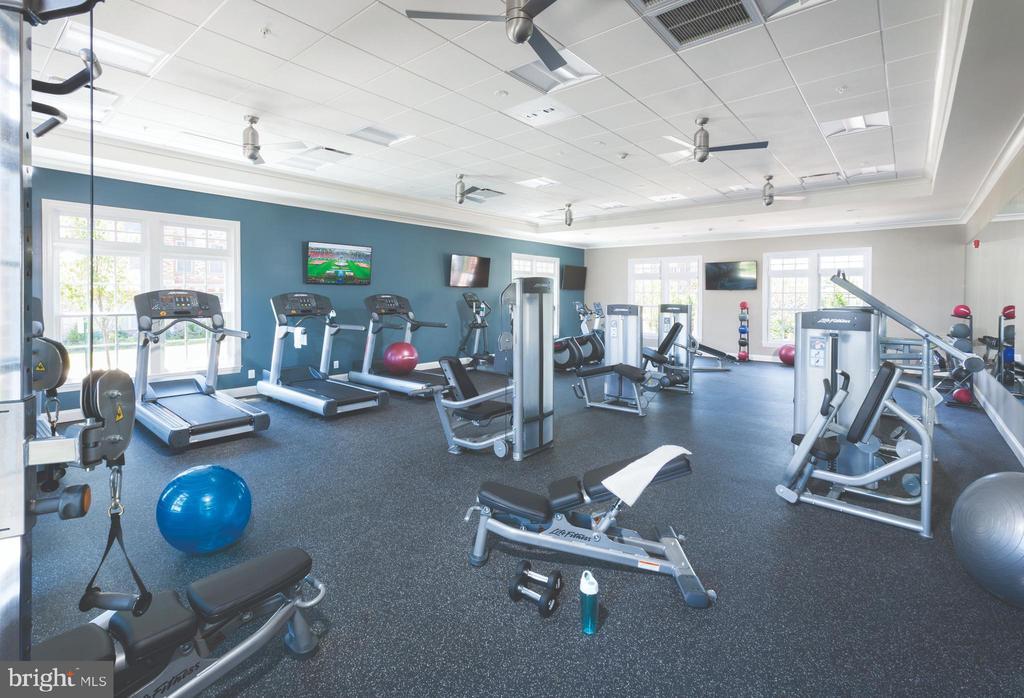 Community Fitness Gym - 22517 WINDSOR LOCKS SQ, ASHBURN
