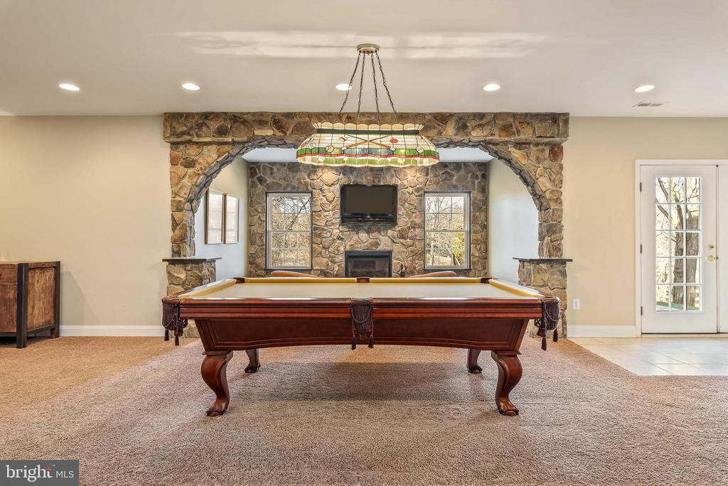 Fantastic space for entertaining on lowel level - 19030 COTON FARM CT, LEESBURG