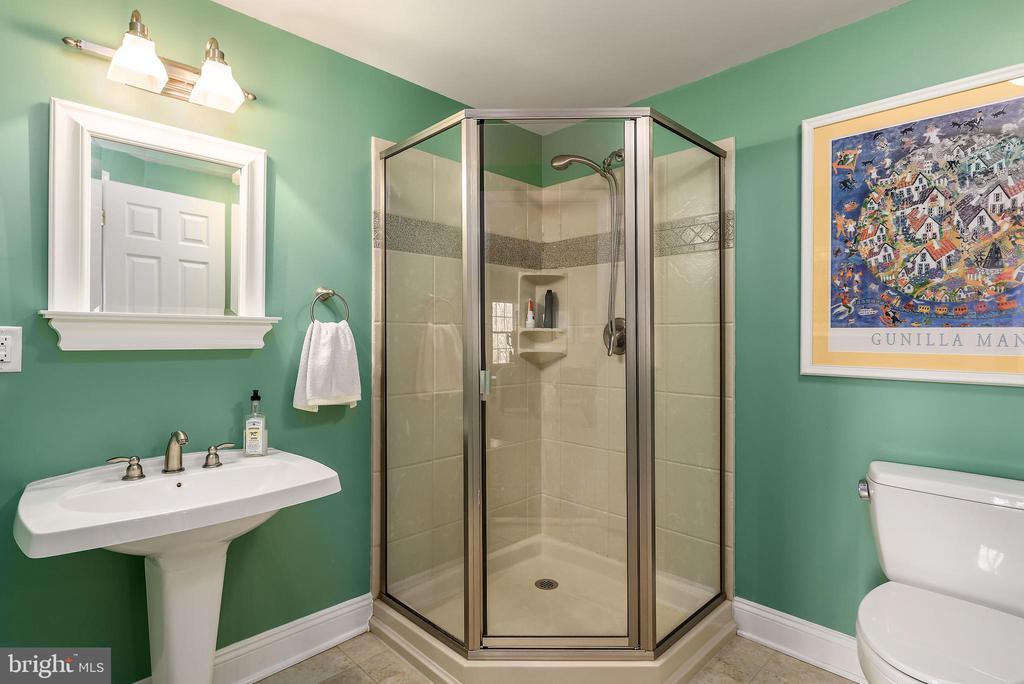 Full bath on lower level - 19030 COTON FARM CT, LEESBURG