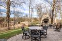 Walk out to your fantastic patio - 19030 COTON FARM CT, LEESBURG