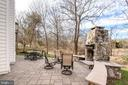 Enjoy a chilly evening with your stone fireplace - 19030 COTON FARM CT, LEESBURG