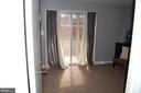 Double glass sliding door in family/Bedroom - 4007 AMES ST NE, WASHINGTON