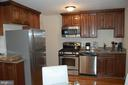 Stainless steel appliances and beautiful cabinets - 4007 AMES ST NE, WASHINGTON