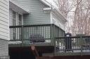 VIEW OF TWO LEVEL SUN DECK - 20970 STEPTOE HILL RD, MIDDLEBURG