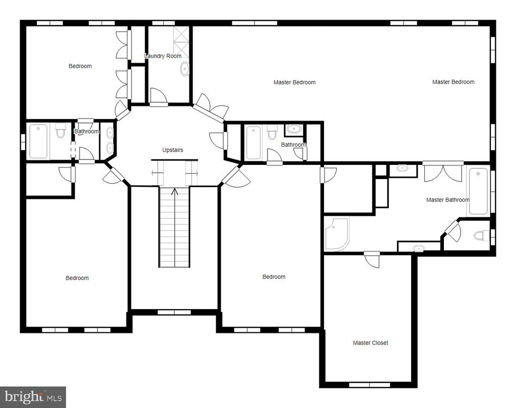 Upper Level Floor Plan - 70 ALDERWOOD DR, STAFFORD