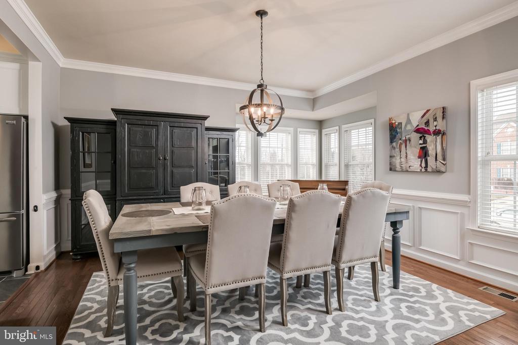 Elegant Formal Dining Room - 10405 ABERDEEN CT, FREDERICKSBURG