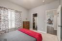 Attached Bathroom in Main Level Bedroom - 10405 ABERDEEN CT, FREDERICKSBURG