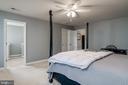 Attached Master Bathroom - 10405 ABERDEEN CT, FREDERICKSBURG