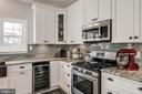 Granite Countertops & Stainless Appliances - 10405 ABERDEEN CT, FREDERICKSBURG